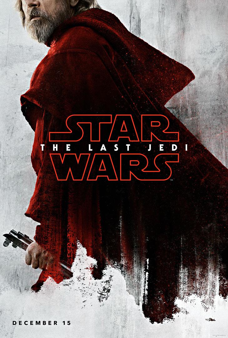 Die letzten Jedi Charakter-Poster Luke Skywalker