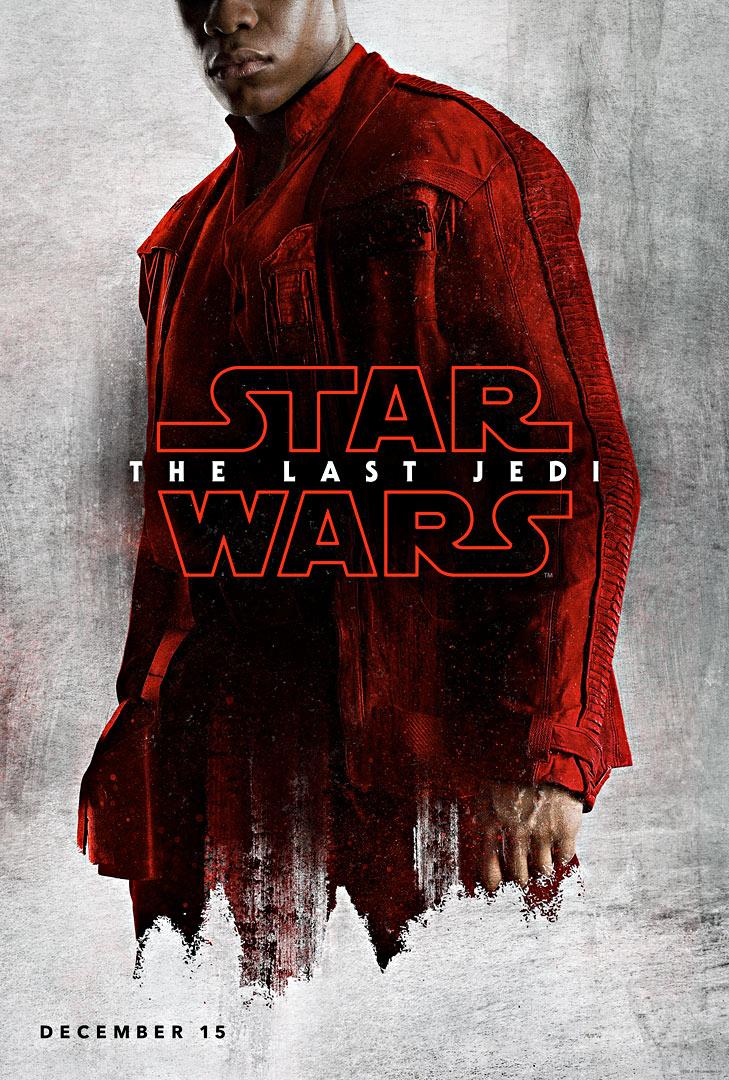 Die letzten Jedi Charakter-Poster Finn