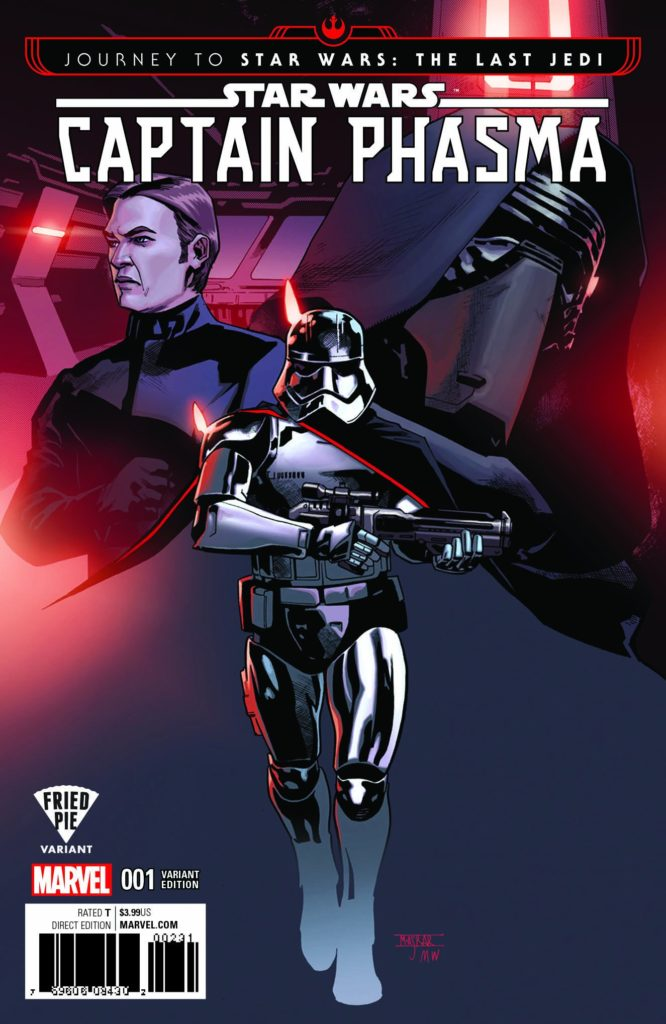 Captain Phasma #1 (Mahmud Asrar Fried Pie Comics Variant Cover) (06.09.2017)