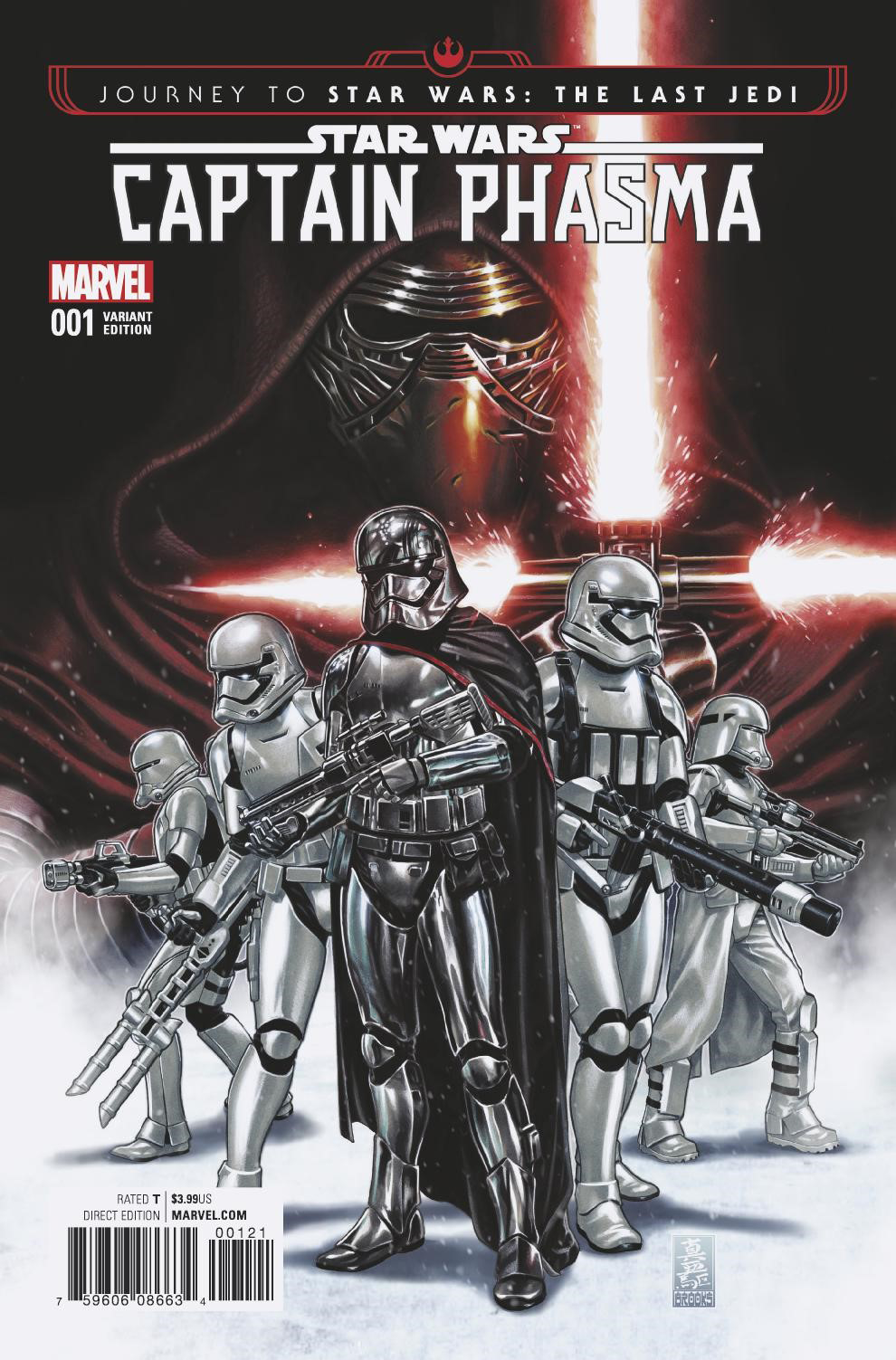 Captain Phasma #1 (Mark Brooks Variant Cover) (06.09.2017)
