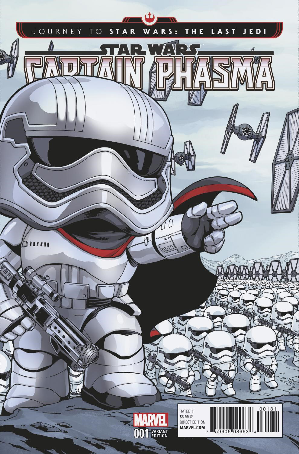 Captain Phasma #1 (Diego Olortegui Funko Variant Cover) (06.09.2017)