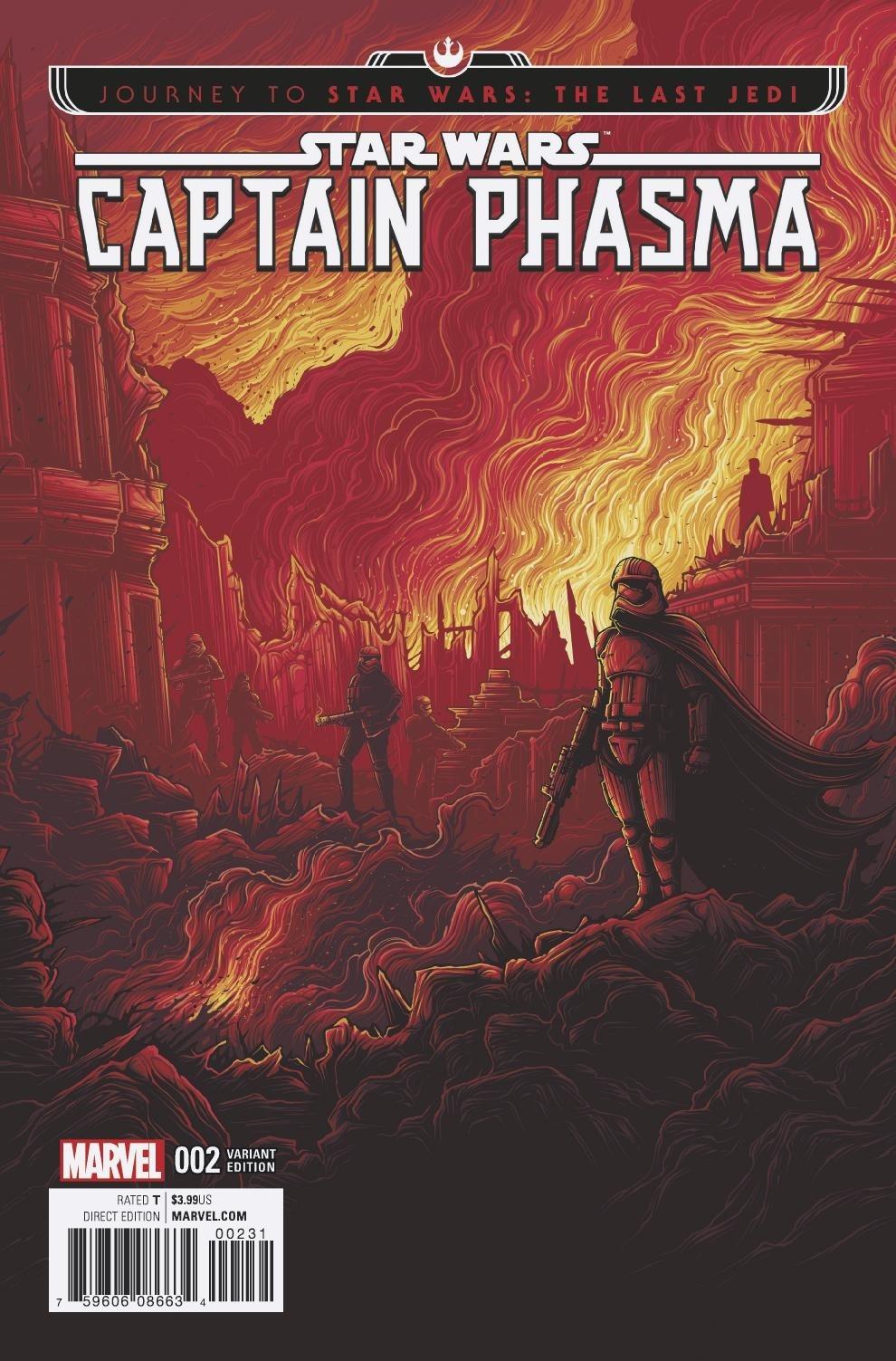 Captain Phasma #2 (Dan Mumford Movie Variant Cover) (20.09.2017)