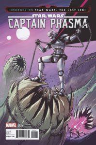 Captain Phasma #2 (Caspar Wijngaard Variant Cover) (20.09.2017)