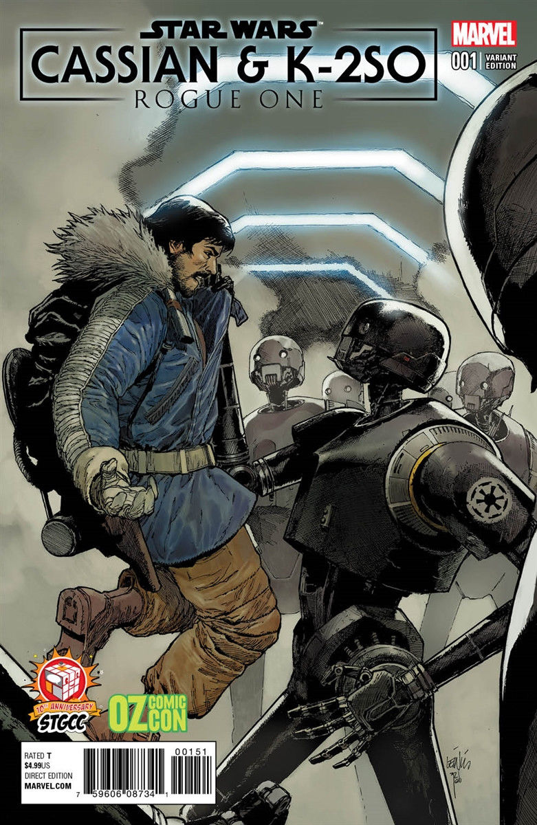 Rogue One: Cassian & K-2SO Special #1 (Leinil Francis Yu STGCC/Oz Comic Con Variant Cover) (09.09.2017)
