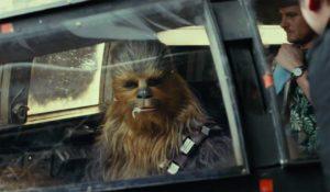Chewbacca in <em>Die letzten Jedi</em>