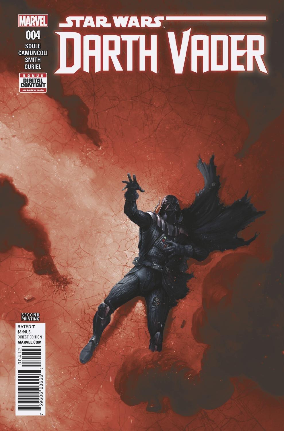 Darth Vader #4 (2nd Printing) (13.09.2017)