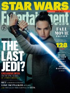 EW Fall Movie Preview 2017 - Rey-Cover (The Last Jedi)
