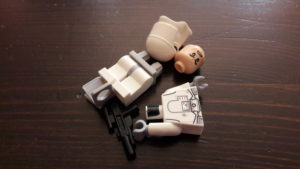 LEGO Star Wars Magazin #26 - Imperial Snowtrooper - Bauteile
