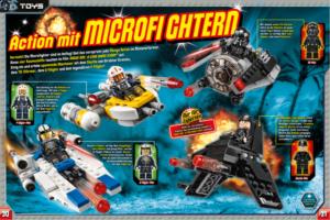 LEGO Star Wars Magazin #26 - Vorschau Seiten 30 und 31