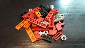 LEGO Star Wars Magazin #27 - Rey's Speeder - Bauteile