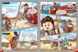 LEGO Star Wars Magazin #27 - Vorschau Seiten 10 und 11