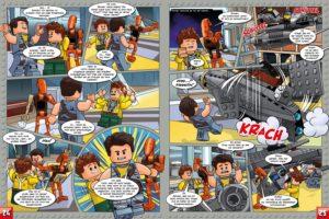 LEGO Star Wars Magazin #27 - Vorschau Seiten 24 und 25
