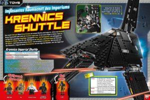 LEGO Star Wars Magazin #27 - Vorschau Seiten 30 und 31