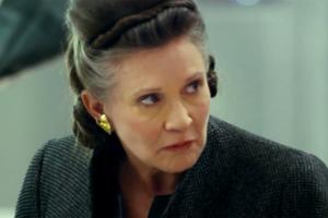 Leia Organa in <em>Die letzen Jedi</em>