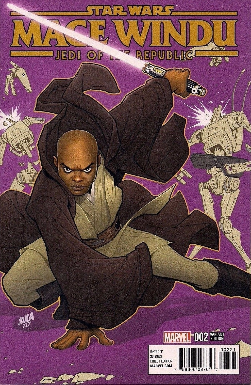 Jedi of the Republic – Mace Windu #2 (David Nakayama Variant Cover) (06.09.2017)