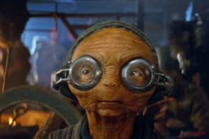 Maz Kanata in <em>Die letzten Jedi</em>