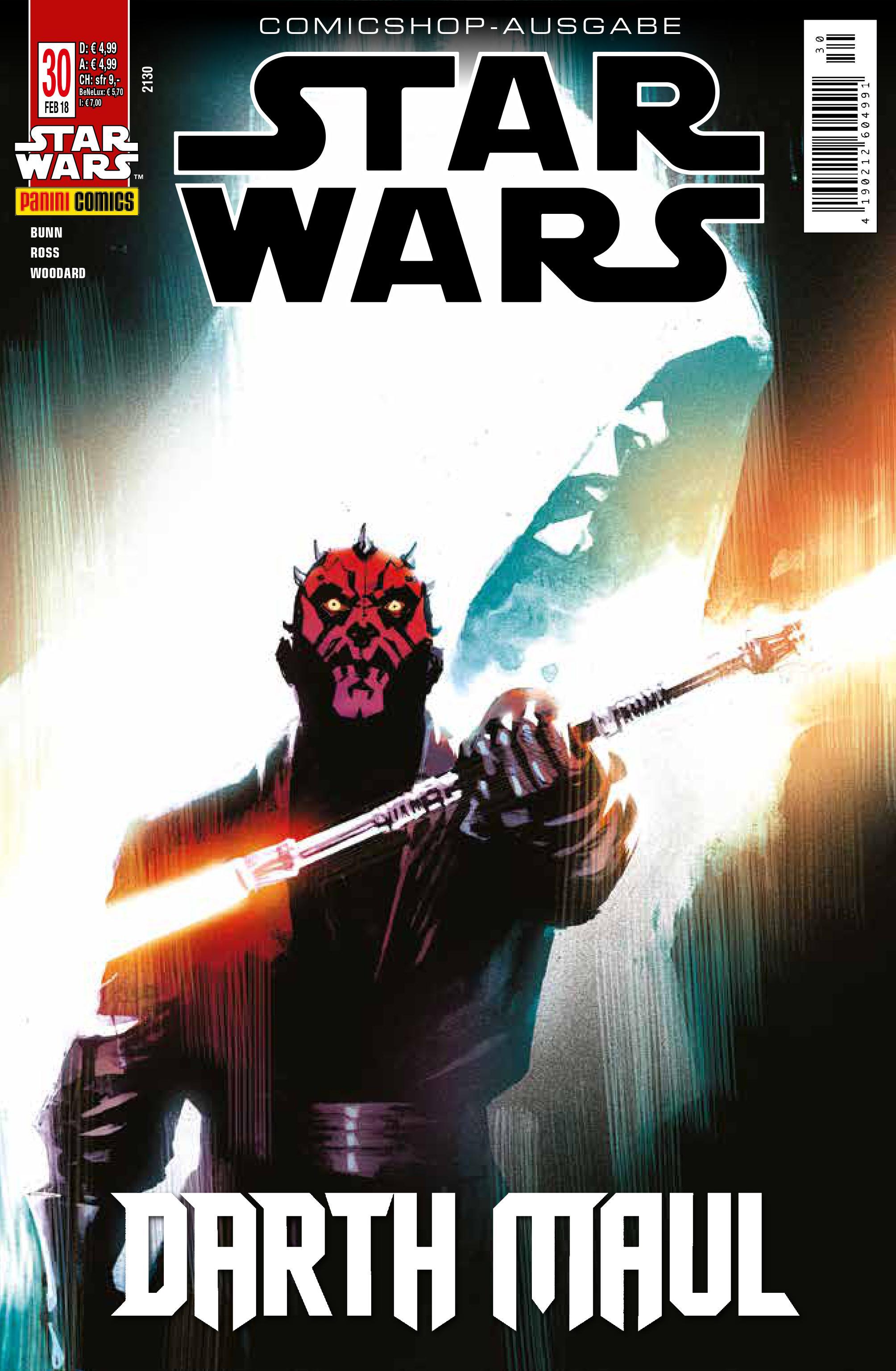 Star Wars #30 (Comicshop-Ausgabe) (30.01.2018)