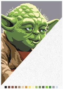 Disney kreativ: Star Wars: Malen nach Zahlen Vorschauseite 3