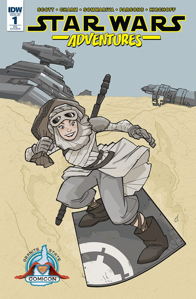 Star Wars Adventures #1 (Craig Rousseau Granite State Comicon Variant Cover) (16.09.2017)