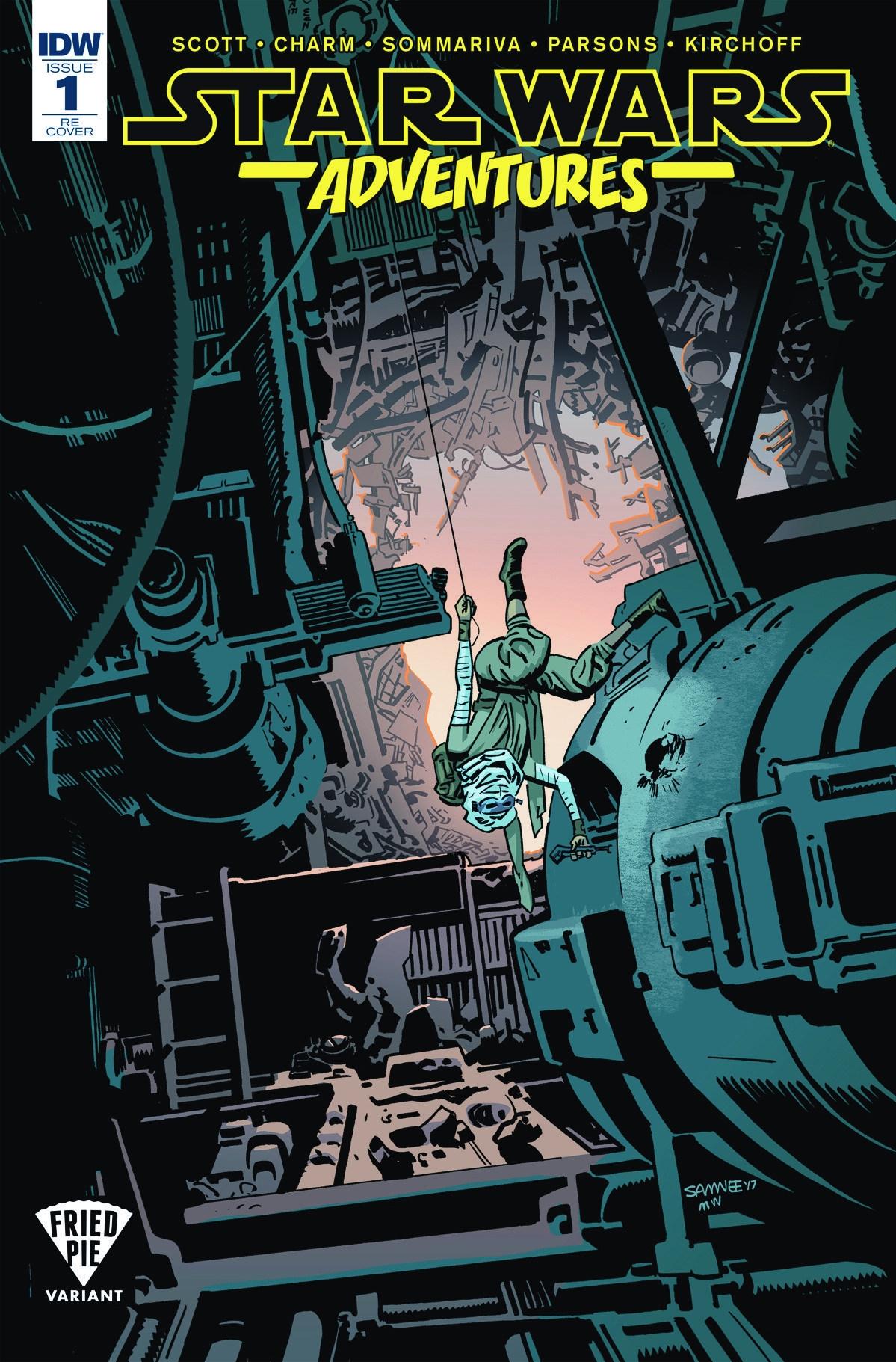 Star Wars Adventures #1 (Chris Samnee Fried Pie Comics Variant Cover) (06.09.2017)