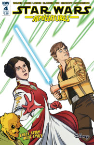 Star Wars Adventures #4 (Cover A by Eric Jones) (22.11.2017)