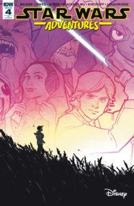 Star Wars Adventures #4 (Annie Wu Variant Cover) (22.11.2017)