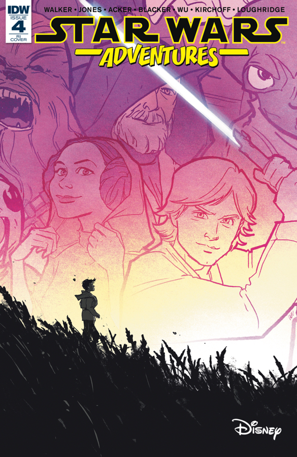Star Wars Adventures #4 (Annie Wu Variant Cover) (22.11.2017)