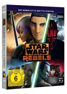 Star Wars Rebels: Staffel 3 - Blu-ray (05.10.2017)