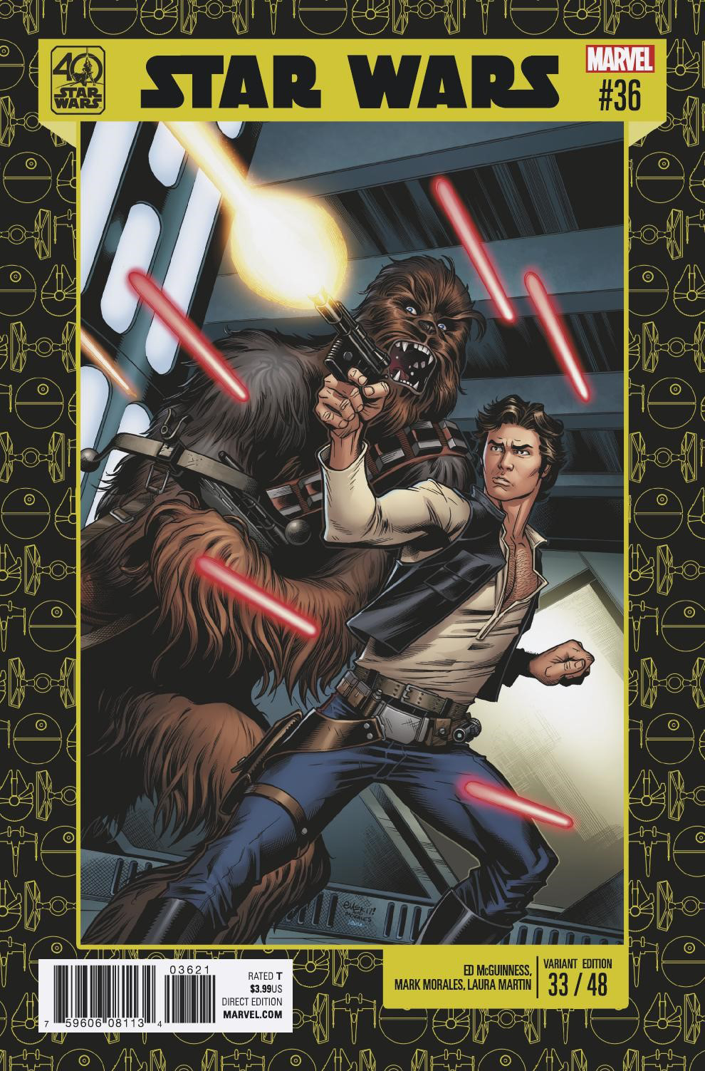 Star Wars #36 (Ed McGuinness Star Wars 40th Anniversary Variant Cover) (13.09.2017)