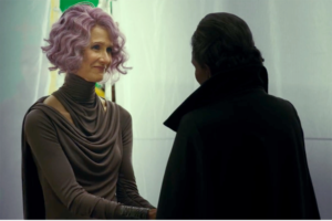 Vizeadmiral Holdo und Leia Organa