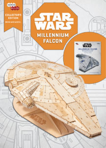 IncrediBuilds: Millennium Falcon - Collector's Edition Book and Model (02.04.2019)