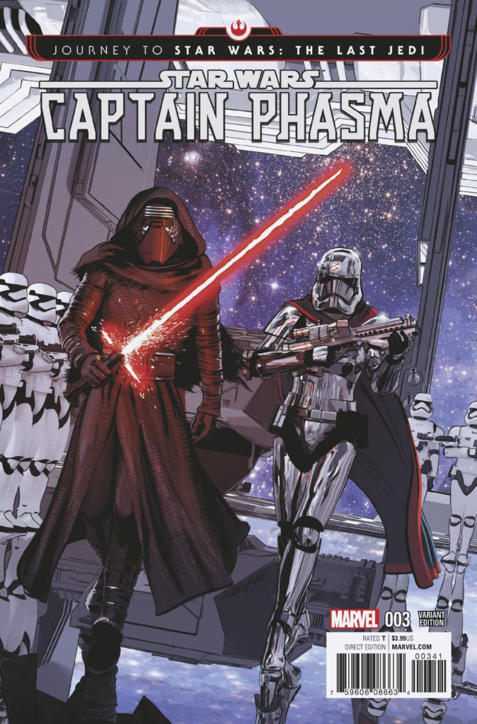 Captain Phasma #3 (Mike Mayhew Variant Cover) (04.10.2017)