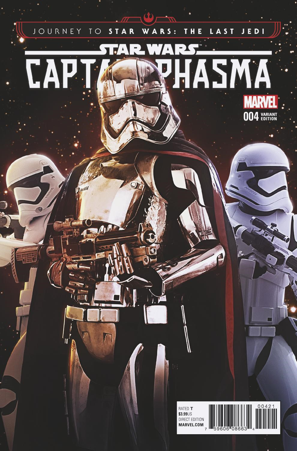Captain Phasma #4 (Movie Variant Cover) (18.10.2017)