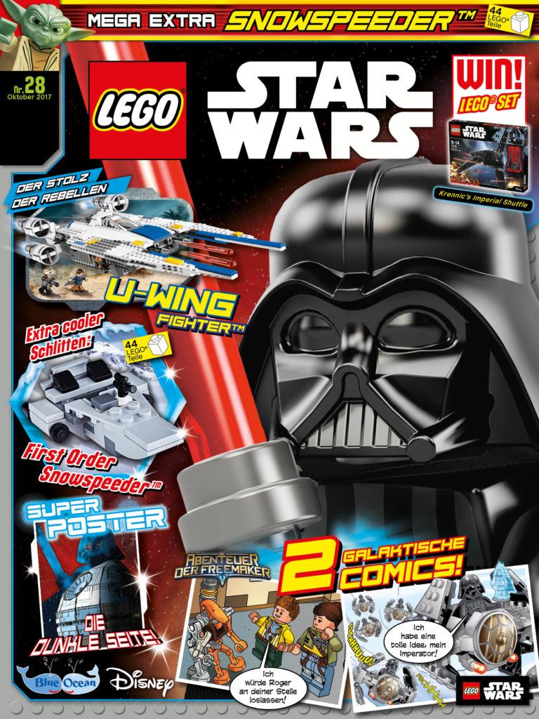 rezension lego star wars magazin 28 von blue ocean entertainment mit leseprobe jedi bibliothek. Black Bedroom Furniture Sets. Home Design Ideas