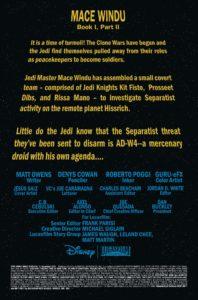 Jedi of the Republic – Mace Windu #2 Vorschauseite 1