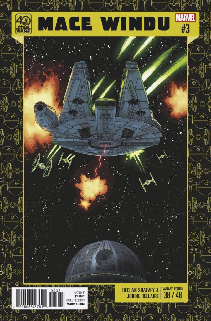 Jedi of the Republic – Mace Windu #3 (Declan Shalvey Star Wars 40th Anniversary Variant Cover) (25.10.2017)