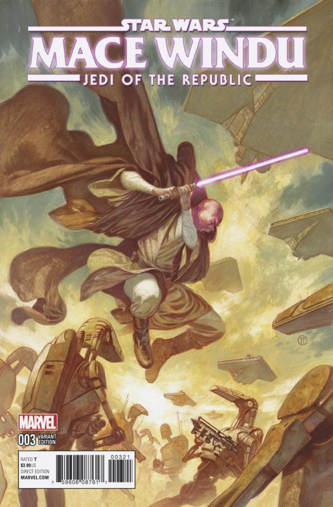 Jedi of the Republic – Mace Windu #3 (Julian Totino Tedesco Variant Cover) (25.10.2017)
