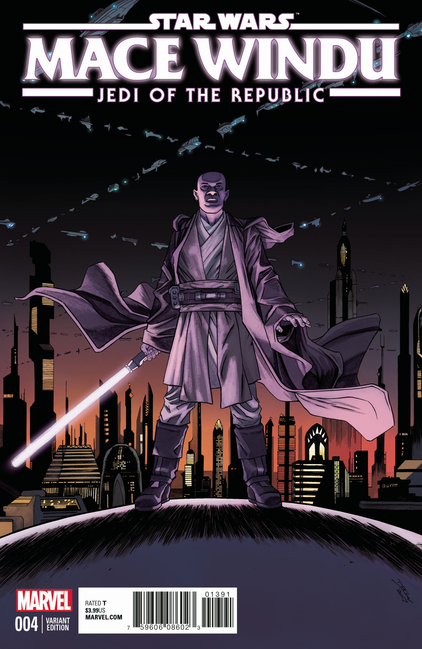 Jedi of the Republic – Mace Windu #4 (Declan Shalvey Variant Cover) (29.11.2017)