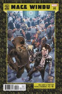 Jedi of the Republic – Mace Windu #4 (Will Sliney Star Wars 40th Anniversary Variant Cover) (29.11.2017)