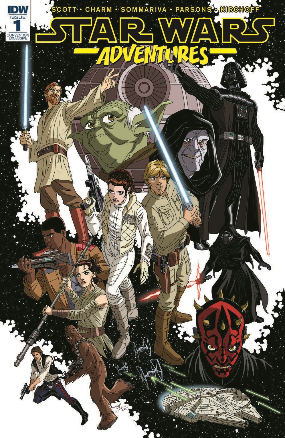 Star Wars Adventures #1 (Tim Levins Fan Expo Variant Cover) (06.09.2017)