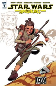 Star Wars Adventures #1 (Elsa Charretier IDW Convention Variant Cover) (05.10.2017)
