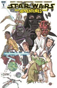 Star Wars Adventures #1 (Eric Jones Retailer Appreciation Variant Cover) (06.09.2017)