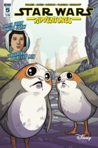 Star Wars Adventures #5 (Cover B by Arianna Florean) (27.12.2017)