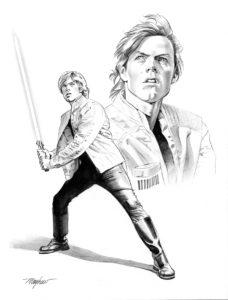 Storms of Crait - Charakterdesign: Luke Skywalker