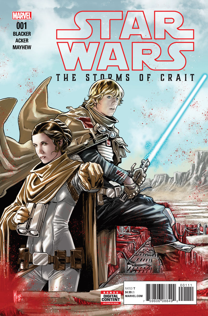 Star Wars: The Last Jedi: Storms of Crait #1 (27.12.2017)
