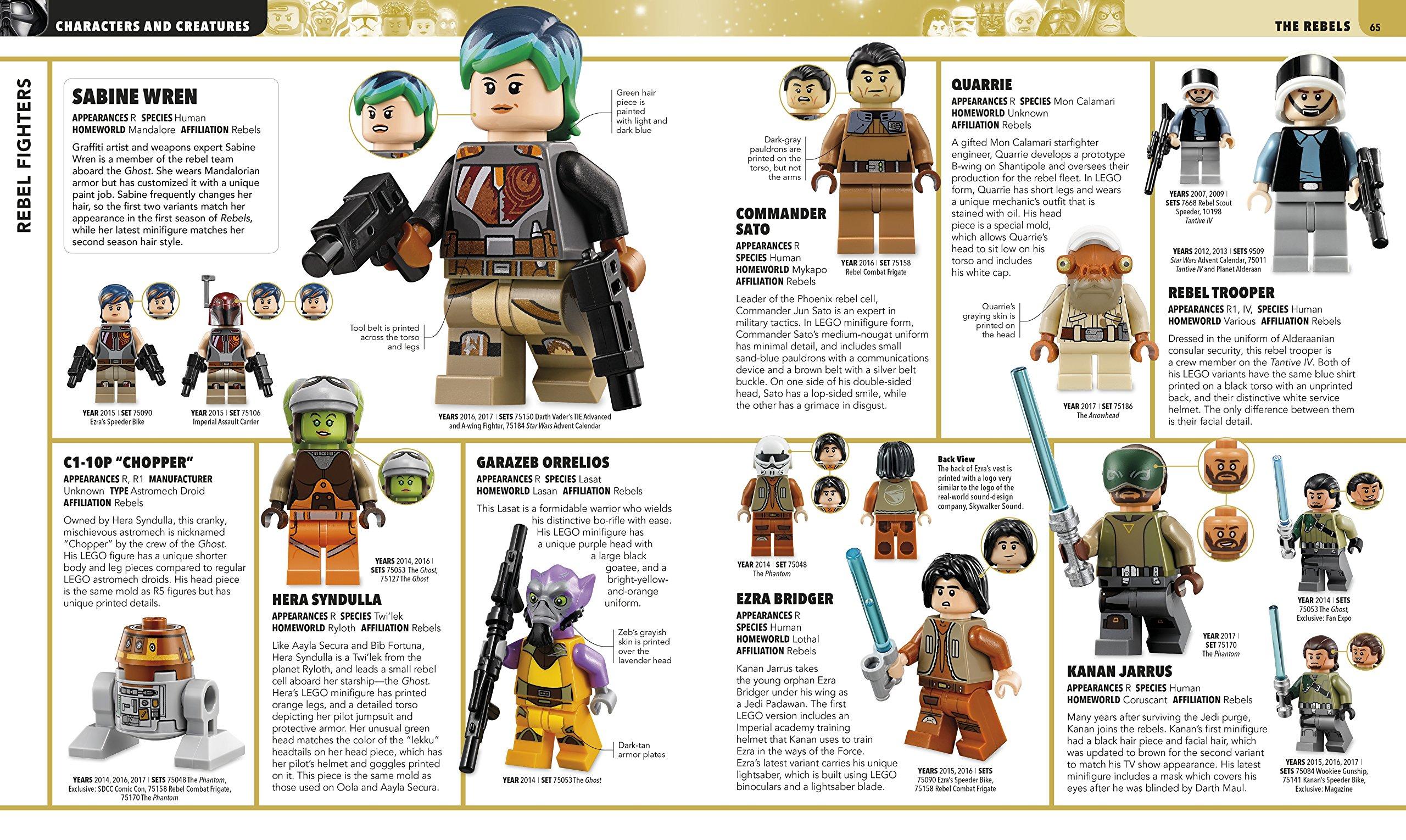 Dk Vorschauseiten Zu Ultimate Lego Star Wars Characters Creatures