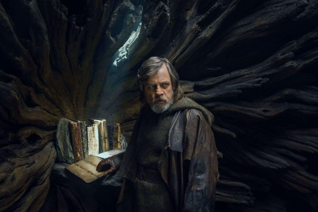 Lukes Jedi-Bibliothek in Die letzten Jedi (Bildquelle: USA Today)