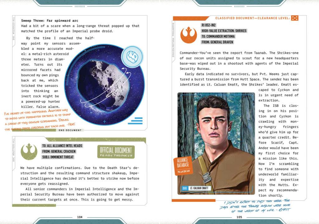 The Rebel Files Vorschauseite 2
