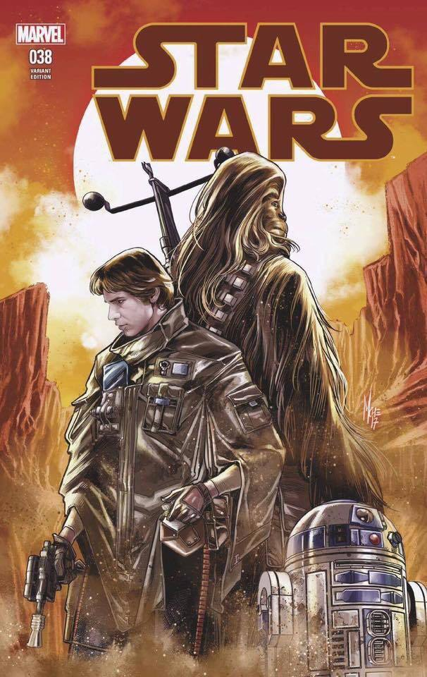 Star Wars #38 (Marco Checchetto Variant Cover) (08.11.2017)