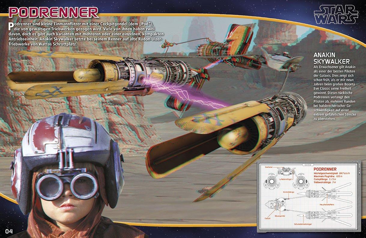 Raumschiffe und Fahrzeuge in 3D - Vorschauseite 1